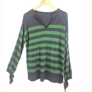 Ann Taylor Pullover Sweater Womens S Blue Green